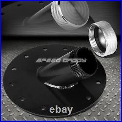 10 Gallon Black Coat Aluminum Fuel Cell Gas Tank+level Sender+45° Fast Fill Neck