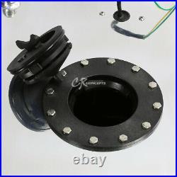 15.5 Gallon Lightweight Polished Aluminum Gas Fuel Cell Tank+level Sender+foam