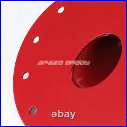 15.5 Gallon Red Coat Aluminum Fuel Cell Gas Tank+level Sender+45° Fast Fill Neck