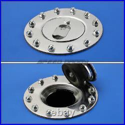 15 Gallon/57l Blue Coat Aluminum Racing/drift Fuel Cell Tank+cap+level Sender