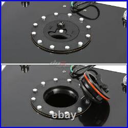 15 Gallon Light Performance Black Coated Aluminum Fuel Cell Tank+level Sender