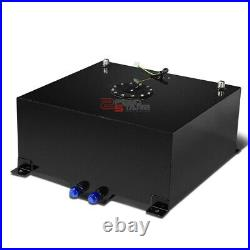 15 Gallon Lightweight Black Aluminum Gas Fuel Cell Tank+level Sender 20x17.5x10