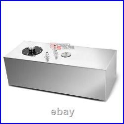 15 Gallon Lightweight Full Aluminum Gas Fuel Cell Tank+level Sender 30x9x12