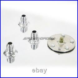 15 Gallon Top-feed Aluminum Fuel Cell Gas Tank+cap+level Sender+nylon Line Kit
