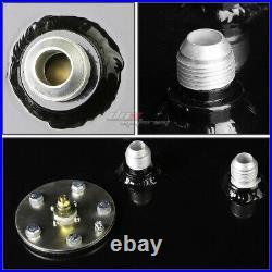 15 Gallon Top-feed Coated Race Fuel Cell Tank+cap+level Sender+nylon Line Kit