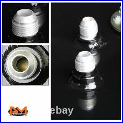17 Gallon/64L Top-Feed Black Coat Aluminum Fuel Cell/Gas Tank+Cap+Level Sender