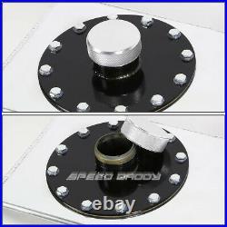 17 Gallon/64l Top-feed Slim Aluminum Race/drift Fuel Cell Gas Tank+level Sender