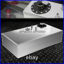 17 Gallon Top-feed Aluminum Fuel Cell Gas Tank+cap+level Sender+steel Line Kit