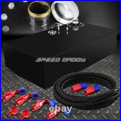 17 Gallon Top-feed Coated Fuel Cell Gas Tank+cap+level Sender+steel Line Kit