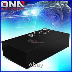 17 Gallon Top-feed Coated Race Fuel Cell Tank+cap+level Sender+nylon Line Kit