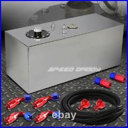19 Gallon Top-feed Aluminum Fuel Cell Gas Tank+cap+level Sender+nylon Line Kit