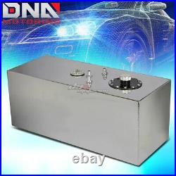 19 Gallon Top-feed Performance Polished Aluminum Fuel Cell Tank+cap+level Sender