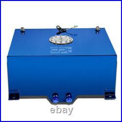 20 Gallon/76l Lightweight Blue Coat Aluminum Race Fuel Cell Tank+level Sender