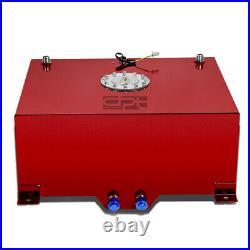 20 Gallon/76l Lightweight Red Coat Aluminum Race Fuel Cell Tank+level Sender