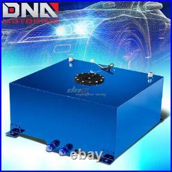 20 Gallon Light Performance Blue Coated Aluminum Fuel Cell Tank+level Sender