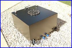 40 Litre Fuel Cell/tank With Level Sender Unit, Black Coating