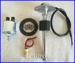 6 Gauge Set With Senders, Speedo, Tacho, Fuel Level, Water Temp, Volts, Oil Pressure