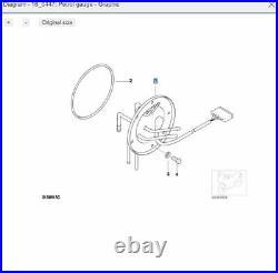 BMW Motorrad Fuel pump mount level sender unit R850 R1000 R1150 GS 16141341922