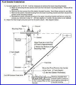Universal Gas Fuel Level Sender 5 Bolt Sending Unit Chevy GMC GM 1965 1997 NEW